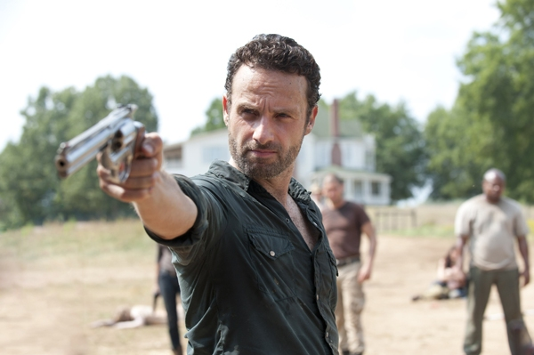 Andrew Lincoln in The Walking Dead