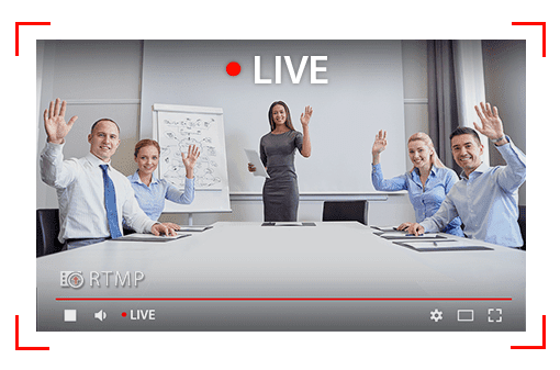Chức năng livetream, thu phóng hình ảnh rõ nét từ hội nghị trực tuyến AVer SVC100