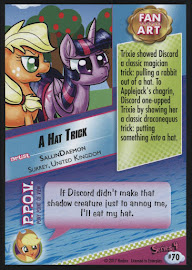 MLP A Hat Trick Series 4 Trading Card