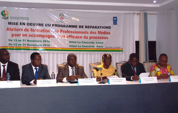 Togo : Le HCRRUN outille les journalistes sur la seconde phase du processus de réparations et d'indemnisations