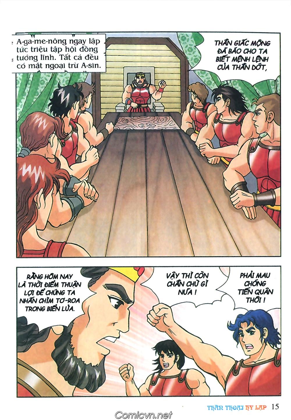 Thần Thoại Hy Lạp Màu - Chapter 57: Cuộc chiến định mệnh - Pic 14
