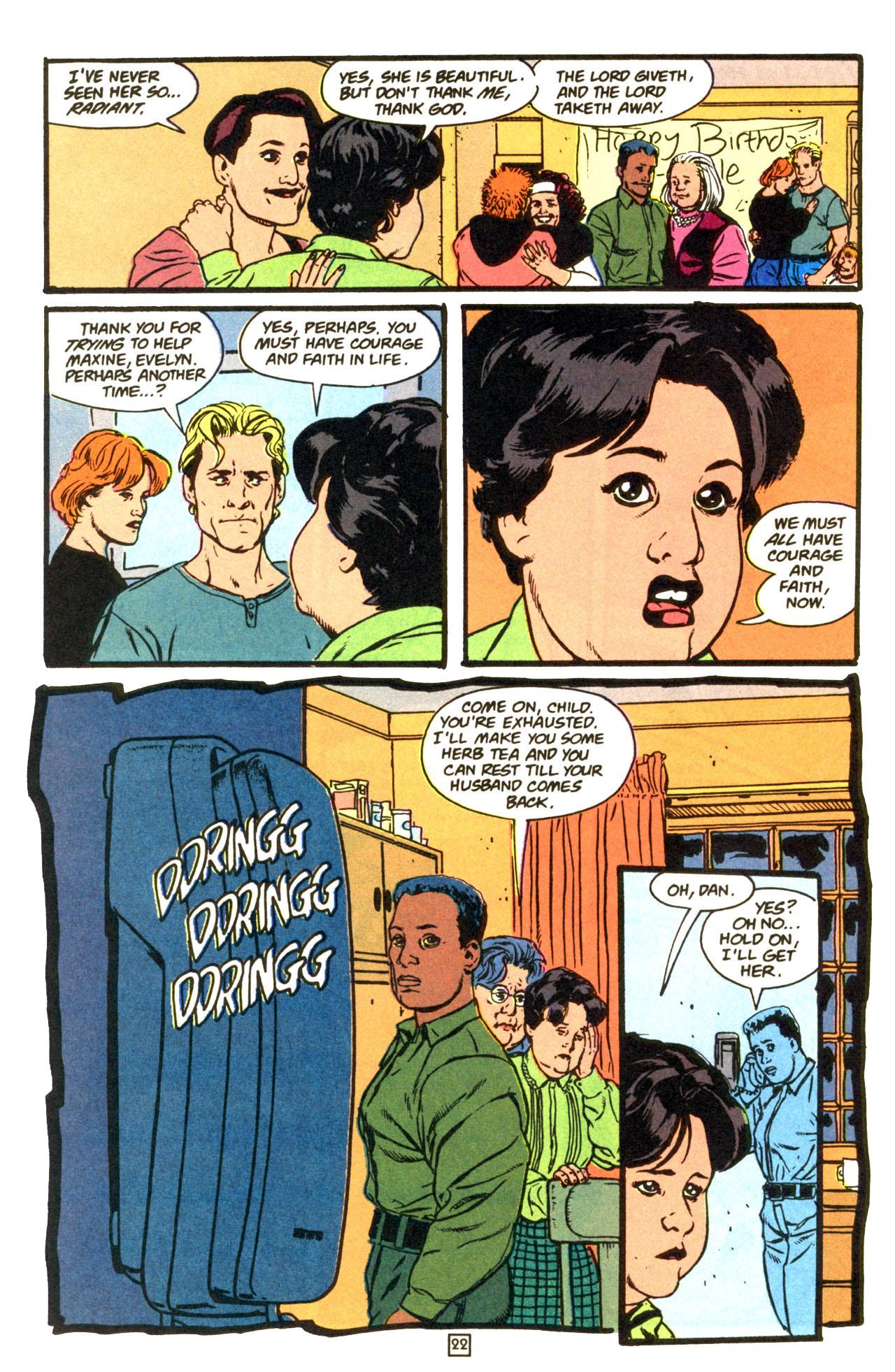 Read online Animal Man (1988) comic -  Issue #68 - 24