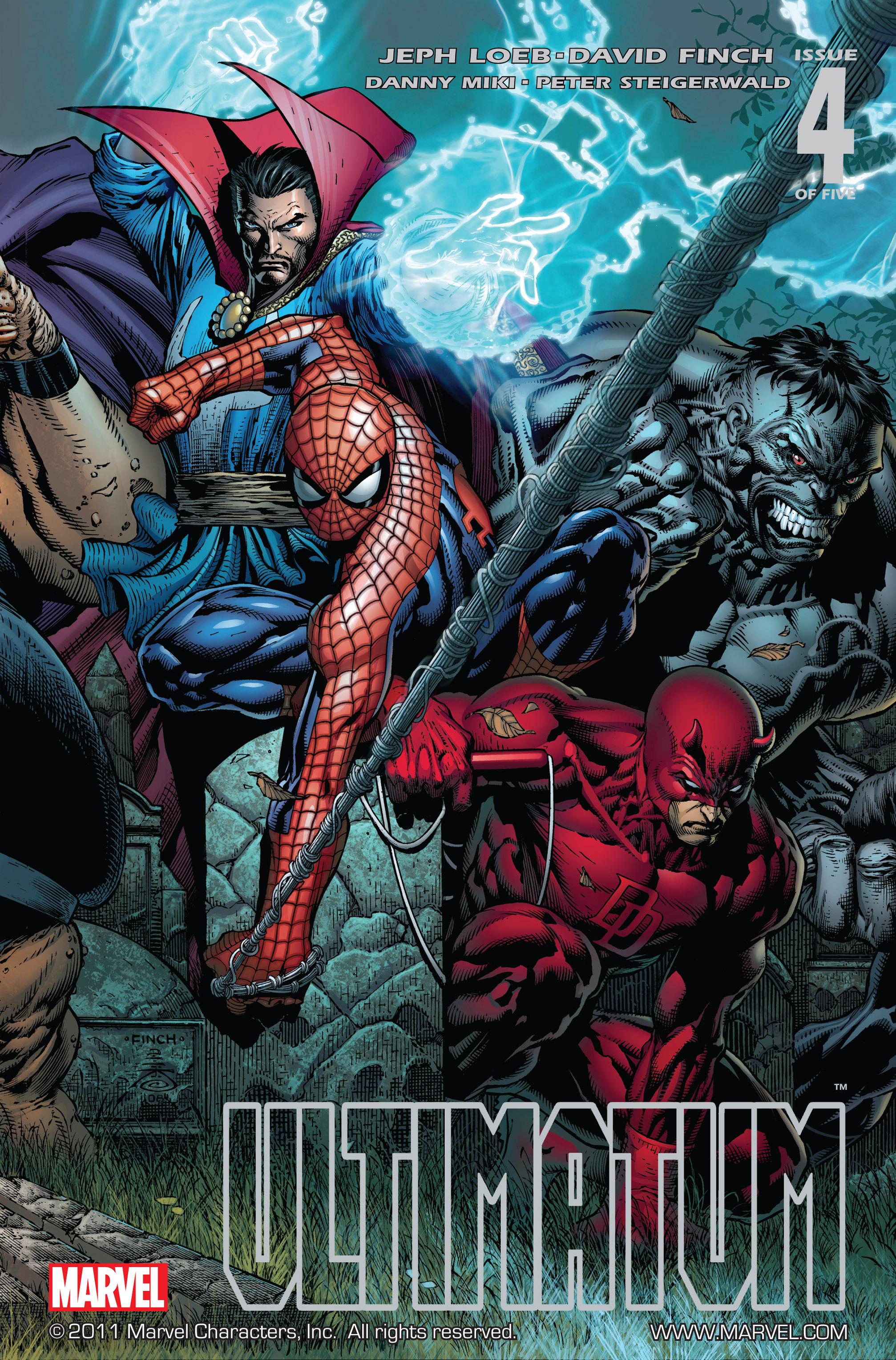 Read online Ultimatum comic -  Issue #4 - 1