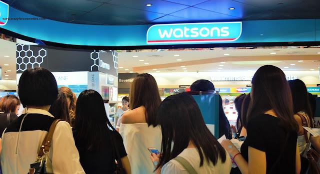 Watsons Takashimaya event
