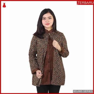 BDJ65B40 Blouse Batik 0061 Terbaru BMGShop