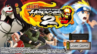 Game Naruto Ultimate Ninja Heroes 2 - The Phantom Fortress PSP ISO Download