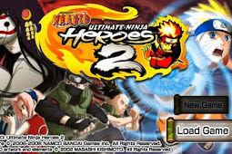 Game Naruto Ultimate Ninja Heroes 2 - The Phantom Fortress + Save Data ISO PPSSPP Download