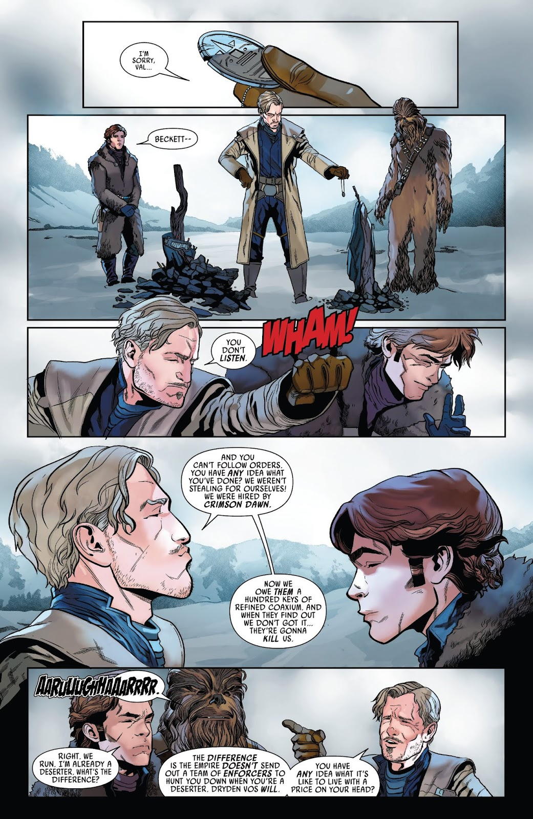 Read online Solo: A Star Wars Story Adaptation comic -  Issue #2 - 18