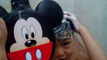 eskulin kids shampo + conditioner mickey mouse