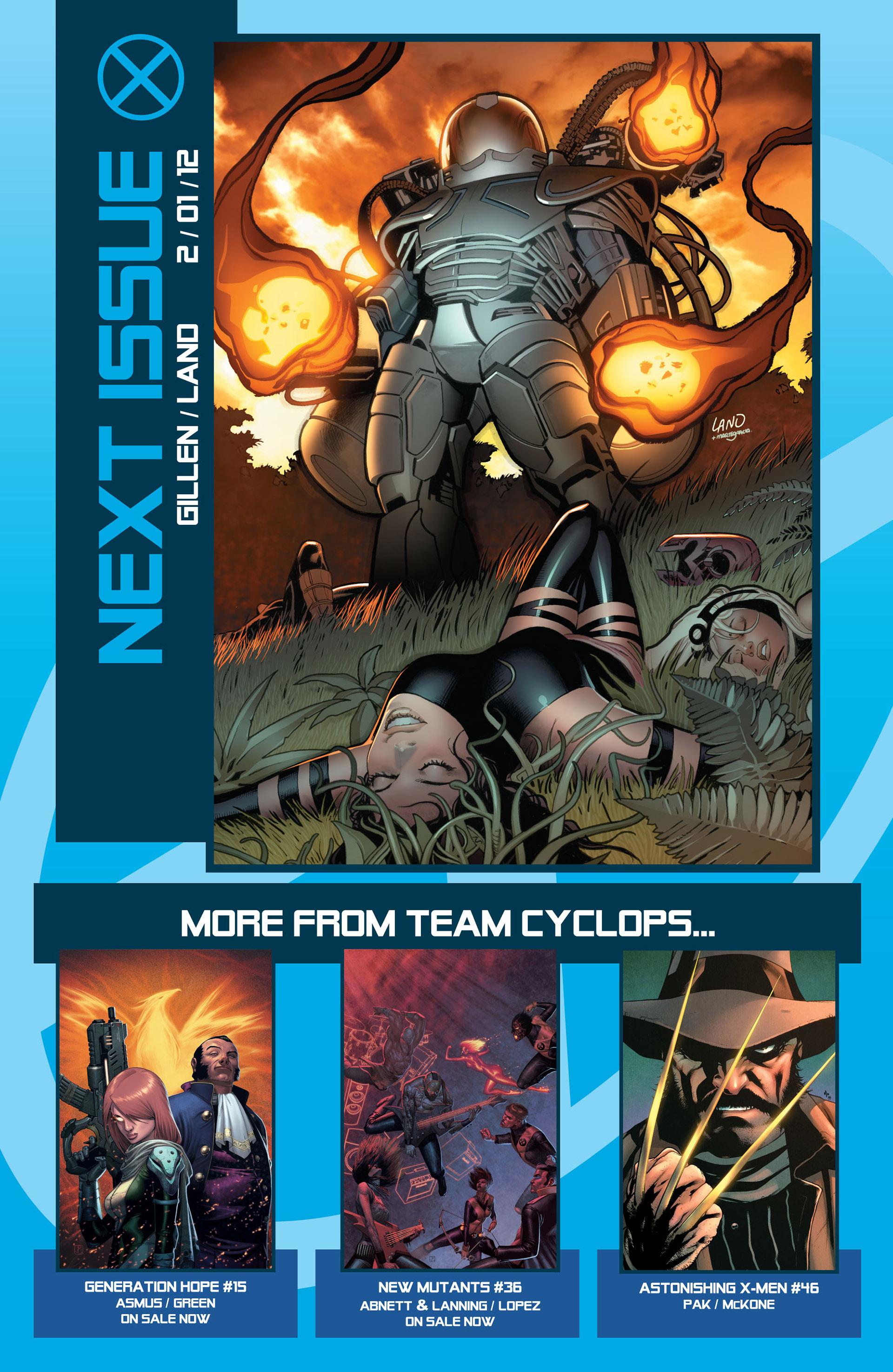 Read online Uncanny X-Men (2012) comic -  Issue #5 - 23