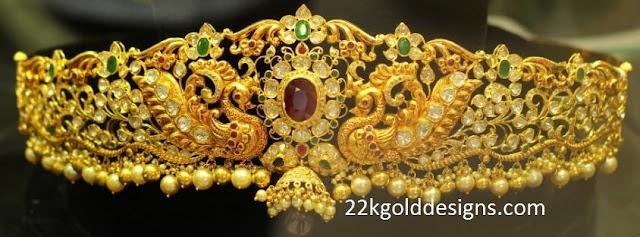 Peacocks Diamond Waist Belt