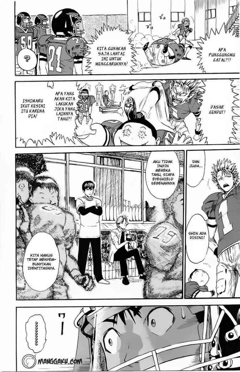 Komik eyeshield 21 006 - mencengkram lapangan 7 Indonesia eyeshield 21 006 - mencengkram lapangan Terbaru 4 Baca Manga Komik Indonesia 