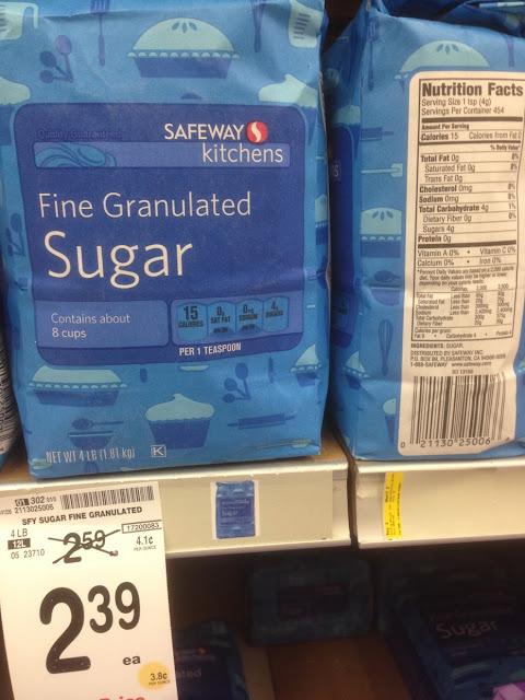 Fine Granulated Sugar, 4 lb, Safeway Kitchens - Safeway