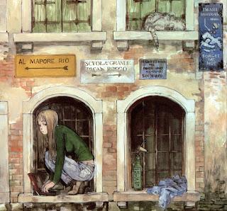 "Dibujo del cómic ""Forget me not"", de Kenji Tsuruta"