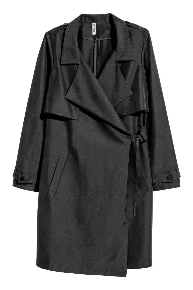 kopertowy trencz H&M, jaki płaszcz wybrać na wiosnę 2017, trendy modowe, najmodniejszy trench,