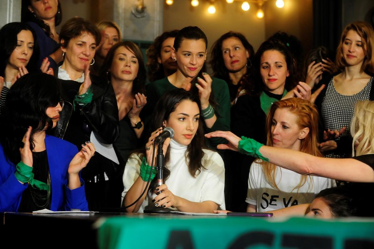 Actrices Argentinas rechazó domiciliarias para femicidas y acusados de violencia de género