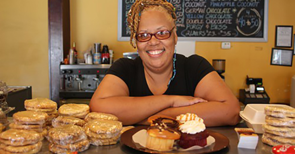 Stephanie Hart of Brown Sugar Bakery in Chicago