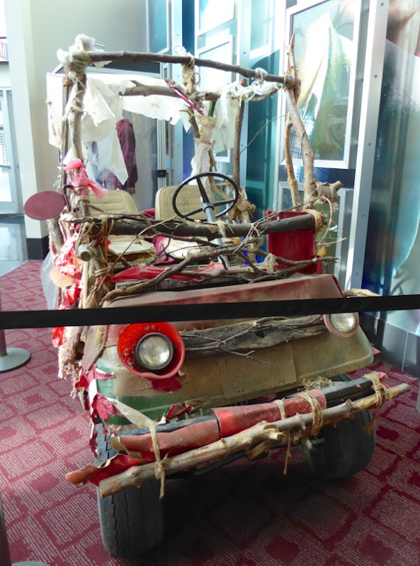 Swiss Army Man film car prop