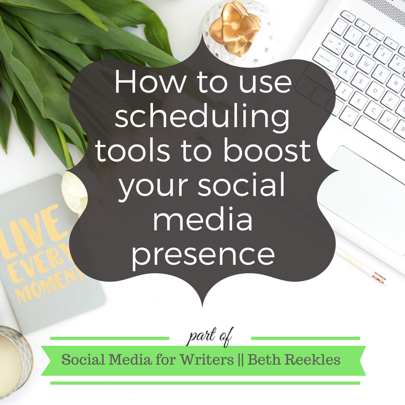 Scheduling tools are a blogger's best friend. In this post, I share a few of my favourites for different social media platforms, and explain why you should use them.