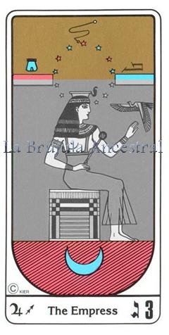 Tarot Egipcio, simbología de la Emperatriz