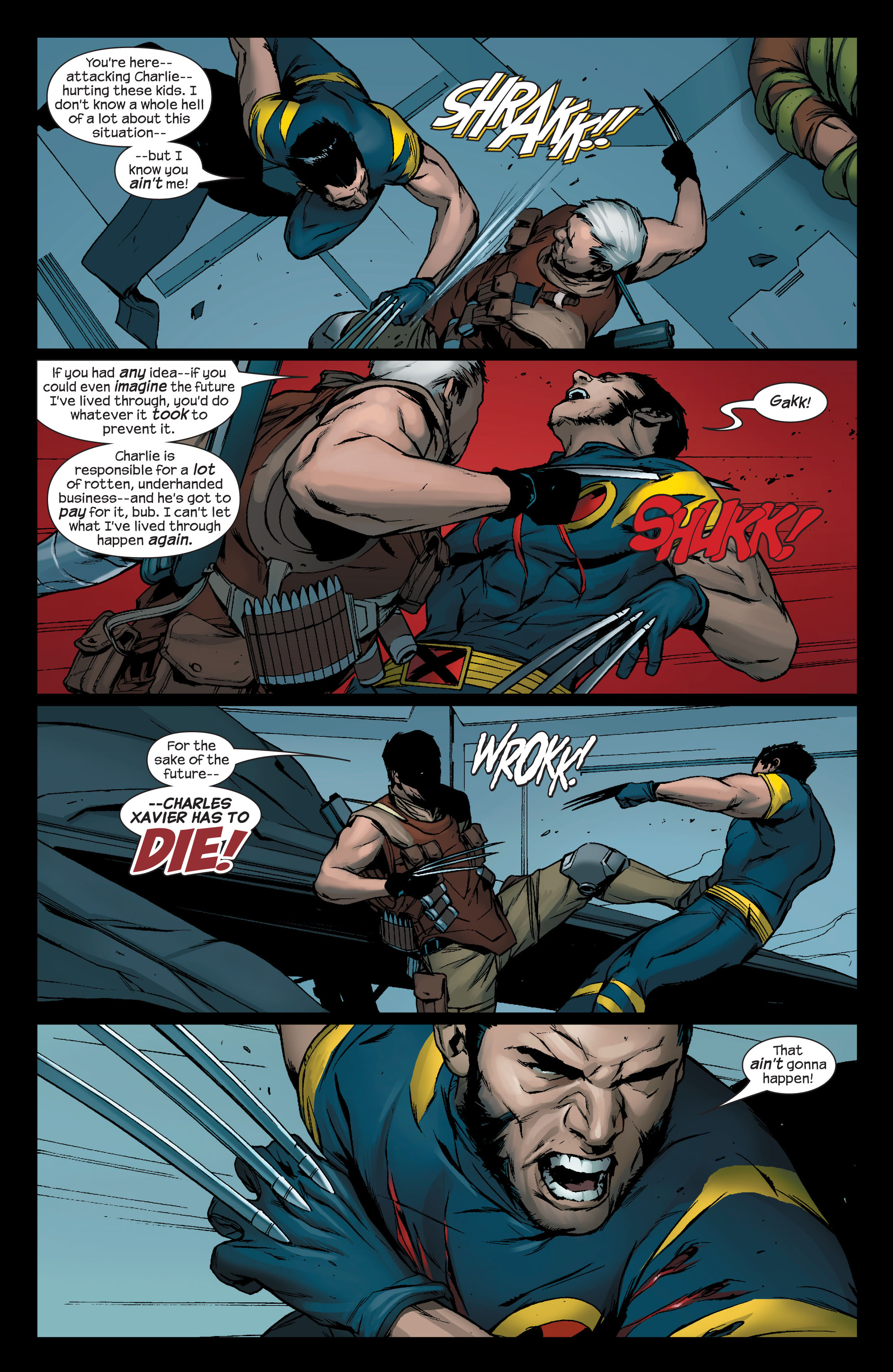 Read online Ultimate X-Men comic -  Issue #76 - 4