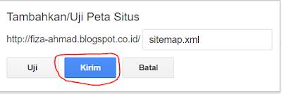 Cara Mengirimkan Sitemap atau Peta Situs ke Google Webmaster