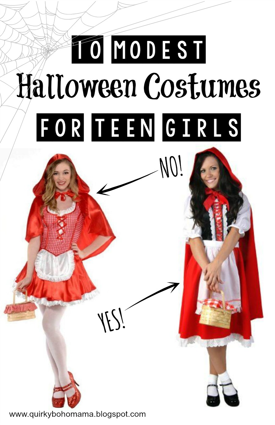 ... Halloween Costumes for Teen Girls. modest Holloween costumes  sc 1 st  Quirky Bohemian Mama & Quirky Bohemian Mama - A Bohemian Mom Blog: 10 Modest Alternatives ...