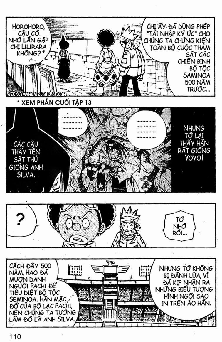 Shaman King [Vua pháp thuật] chap 140 trang 15