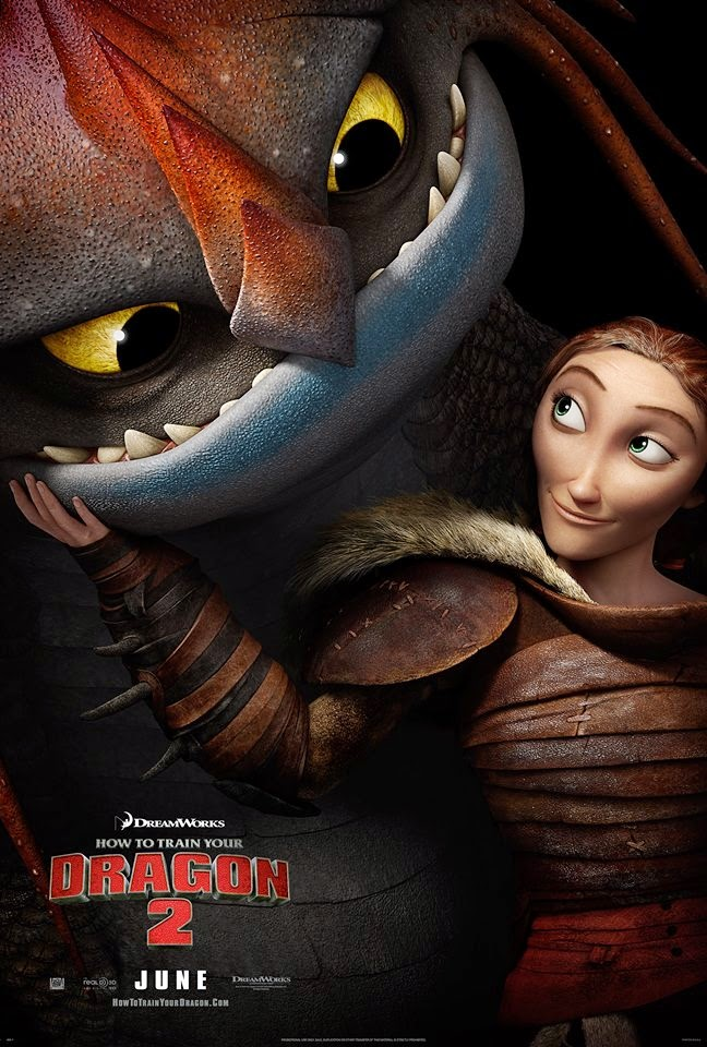 How To Train Your Dragon 2 Valka & Cloudjumper