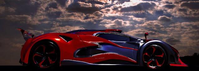 Inferno Exotic Car - Alcanza los 96 kilómetros por hora en 2,7 segundos