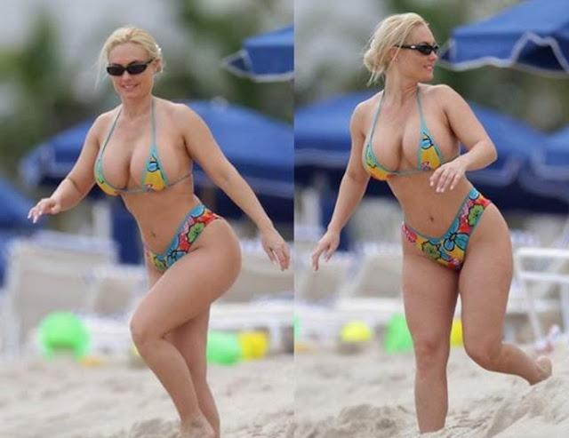 Fotografías de Presidenta croata en bikini causan revuelo