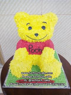 Winnie The Pooh 3d Buttercream Cake