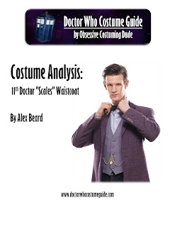 "11th Doctor ""scales"" waistcoat analysis"