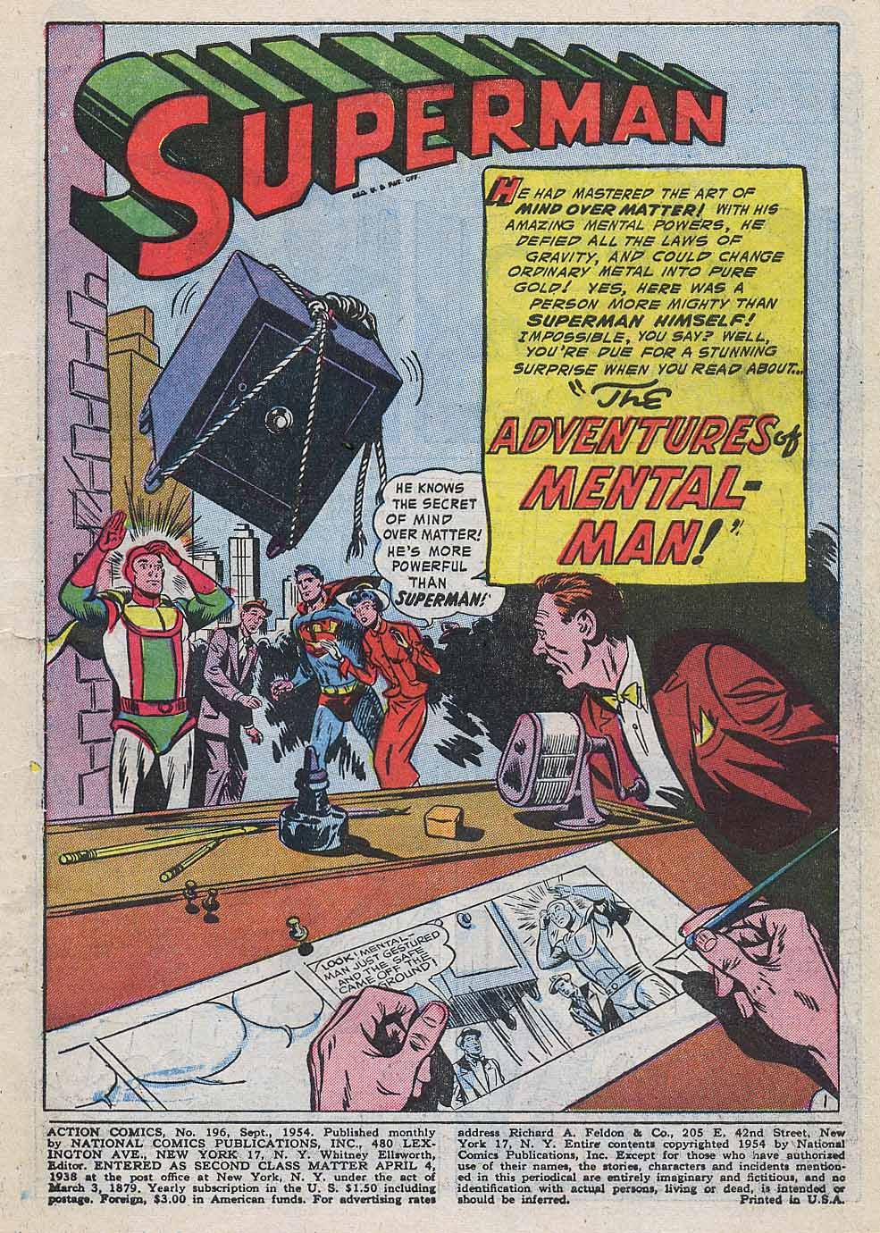 Read online Action Comics (1938) comic -  Issue #196 - 3
