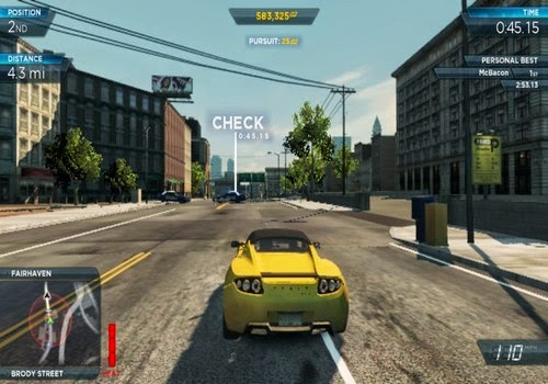 NFS MOST WANTED CRACKED APK DOWNLOAD