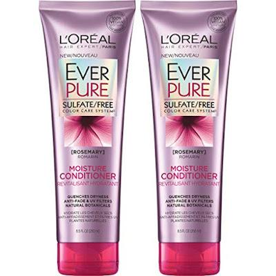 L'Oreal Paris Hair Care Everpure Sulfate Free Moisture Conditioner, 2 Count