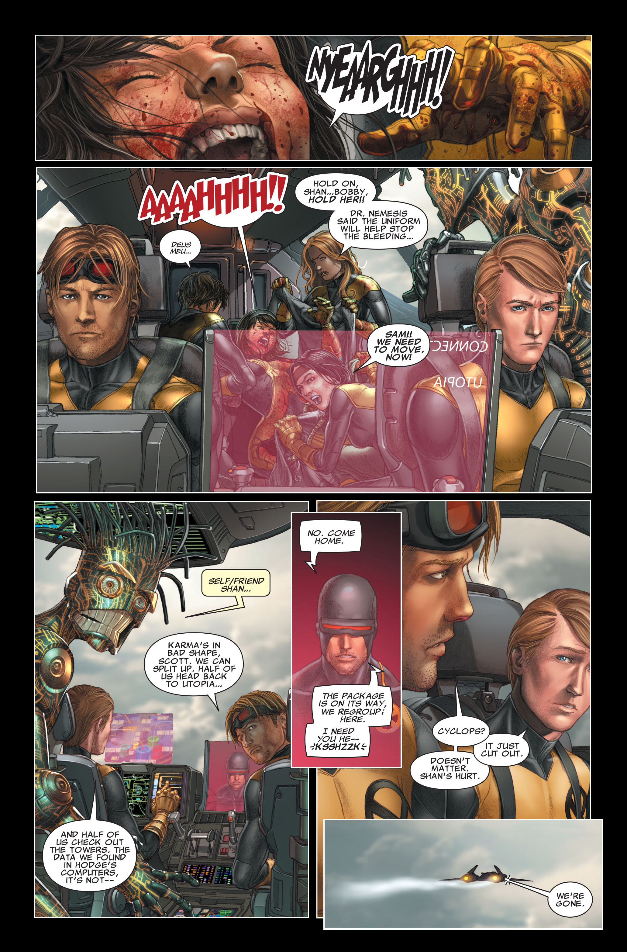 Read online X-Force (2008) comic -  Issue #26 - 6