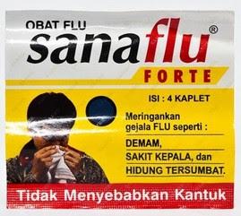 Harga Sanaflu Forte Obat Gejala Flu Terbaru 2017