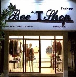 Thi công biển quảng cáo cho cửa hàng thời trang Bee Shop