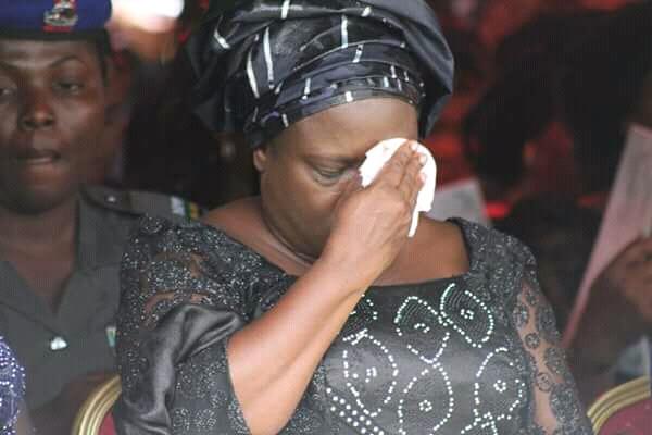 Tearful Mrs Ikpeazu, others bid farewell to Amaka