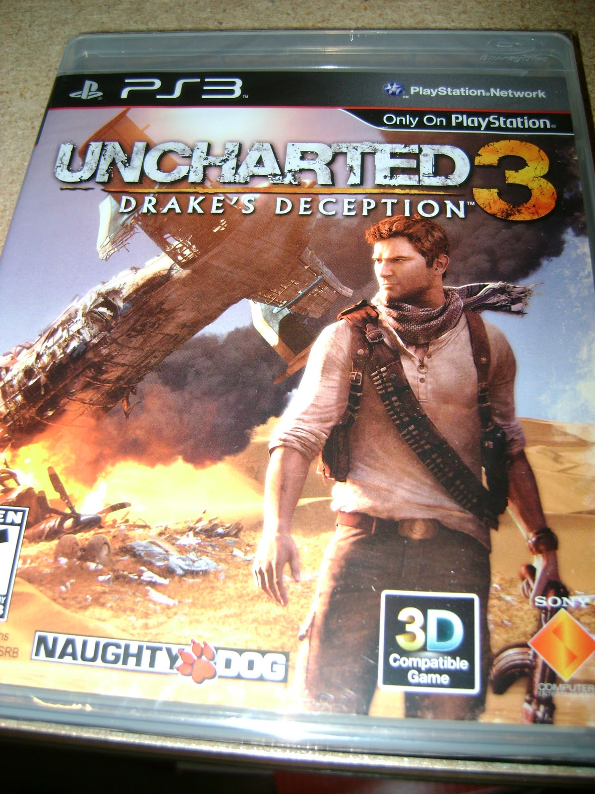Thumbdrive New Uncharted 3 Drake S Fortune Info Surfaces Including Install Ps3