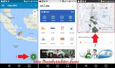 Tutorial nuyul online digrab gojek uber12