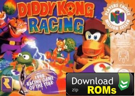 Game Diddy Kong Racing Rom N64 [U] Mega Download ( zip) ~ Nintendo