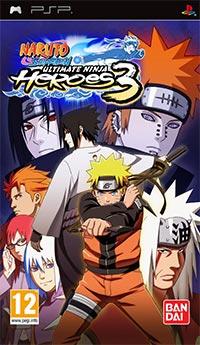 Naruto Shippuden Ultimate Ninja Heroes 3 [PSP] Español [MEGA]