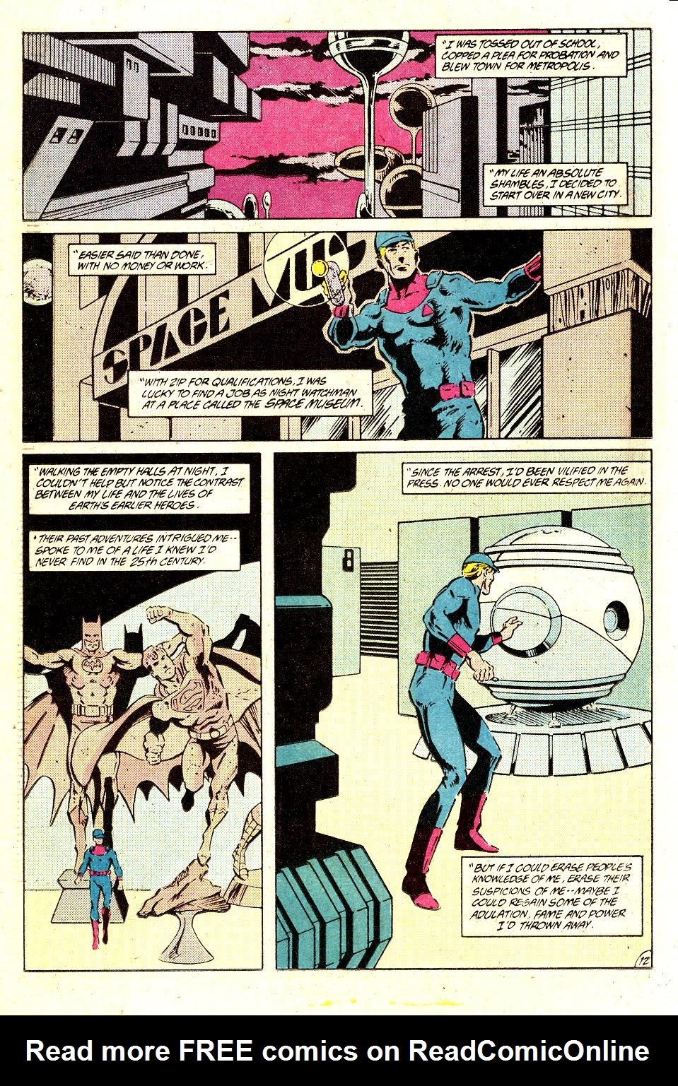 Read online Secret Origins (1986) comic -  Issue #35 - 16