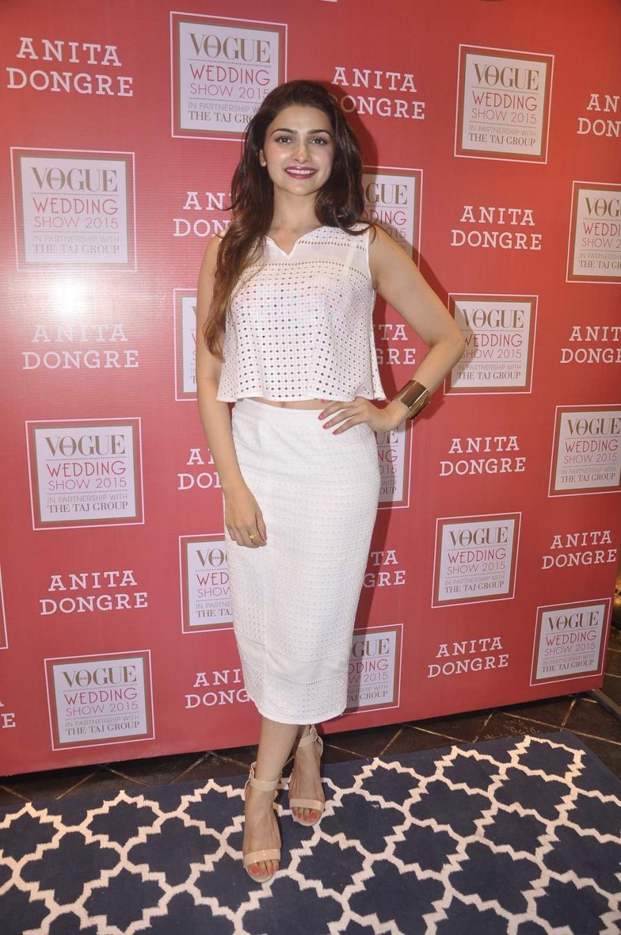 Mumbai Actress Prachi Desai Long Hair Photos At Vogue Wedding Show