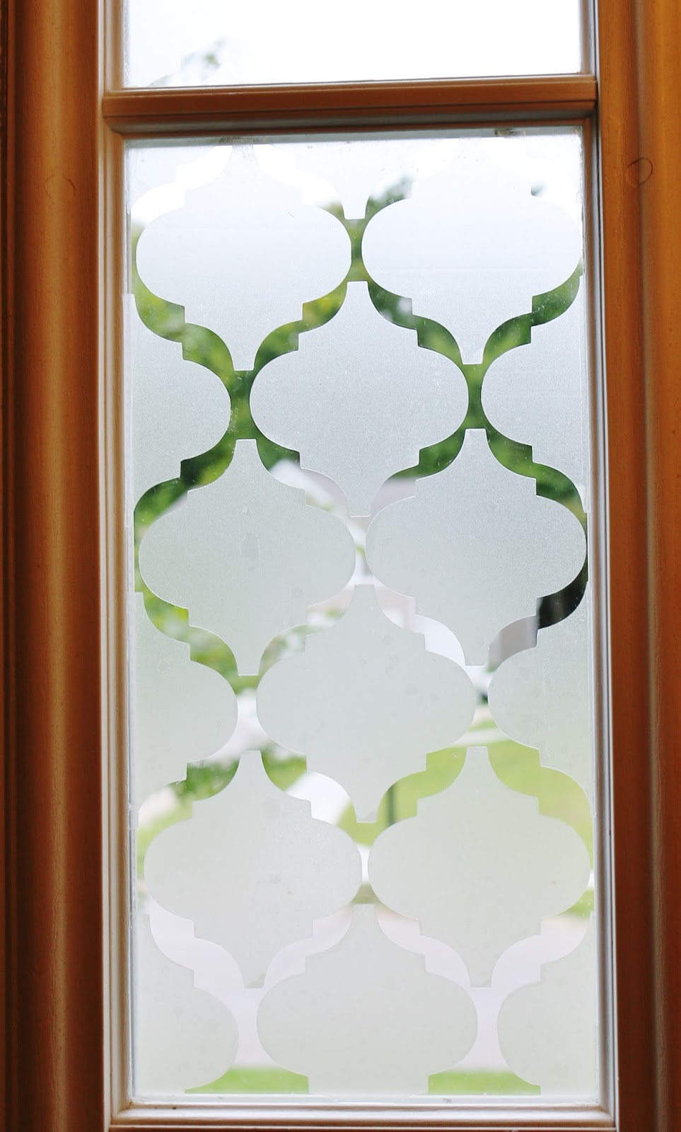 My Simple Modest Chic Diy Frosted Window Privacy Film