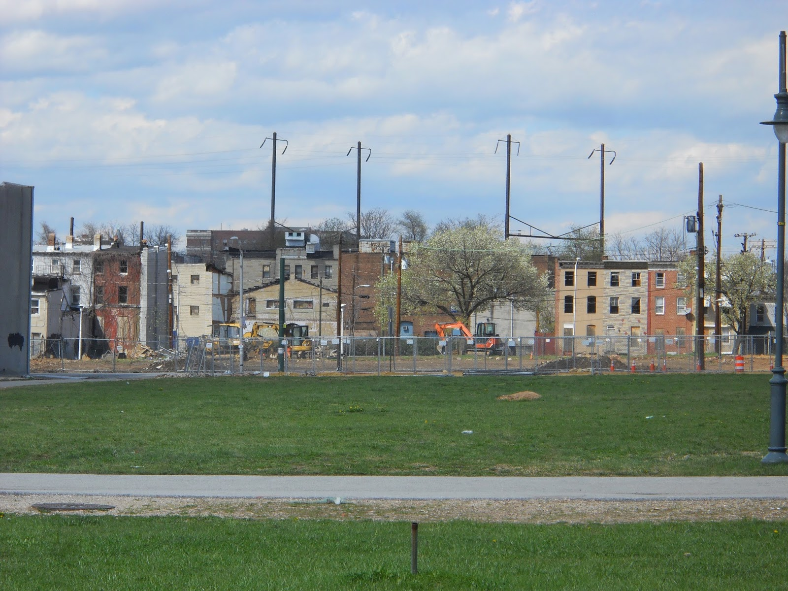 Baltimore City's Past Present and Future: Church Square Clay Courts