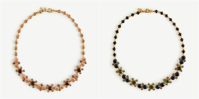 Ann Taylor Short Crystal Statement Necklace $20 (reg $50)