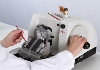 mikrotom, mikroteknik hewan, mikroskop, histoteknik